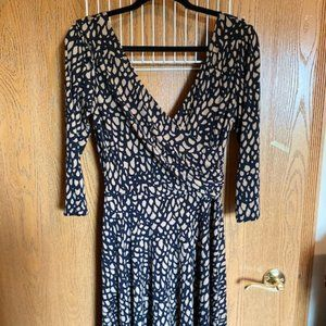 Maggie London V-neck Dress, Sz. 10